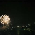 fireworks over barga