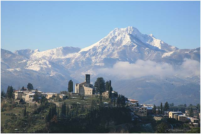 barga in the snow