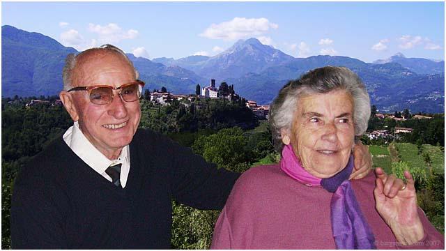 Maria Borsi and Benvenuto Piacentini