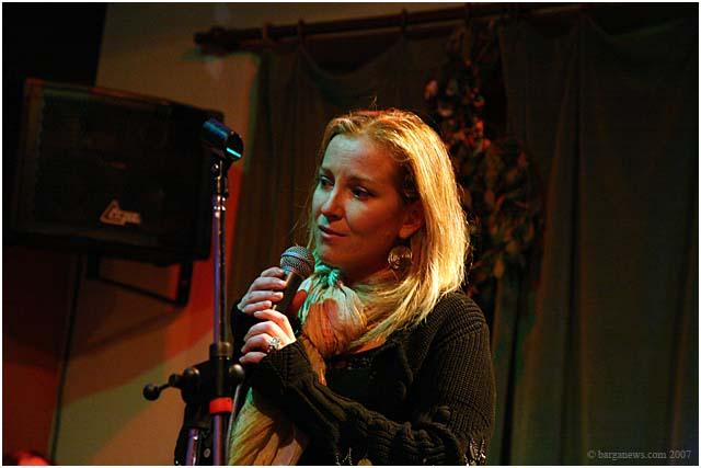 Michela Lombardi at Barga Jazz Club