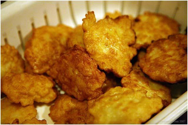 frittelle di riso - La Festa di San Giuseppe