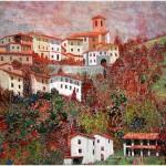 {barganews_alba } Alba Calamari paintings on show at  L'Osteria