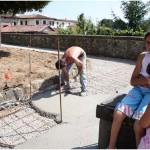 {barganews} Re-surfacing work on two piazzas in Barga