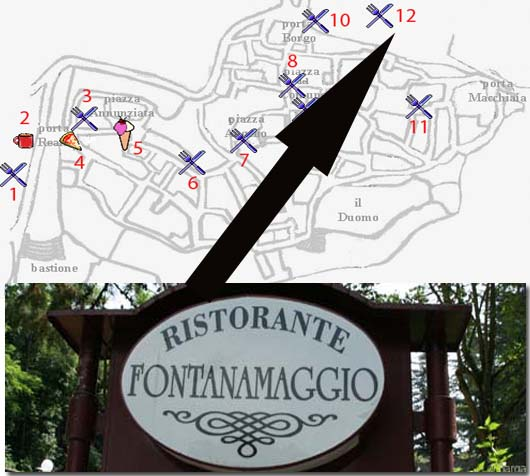 restaurants bars trattoria and osteria in barga vecchia