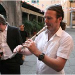 {barganews} Irish musicians marry in Barga