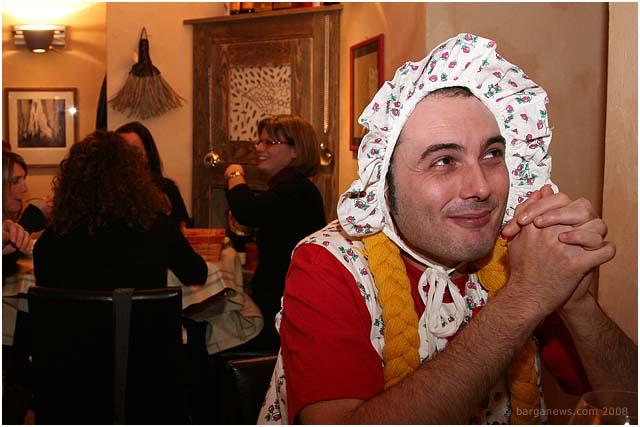 Carnivale in Barga at the Scacciaguai