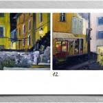 {barganews} richard clare paintings of barga at night