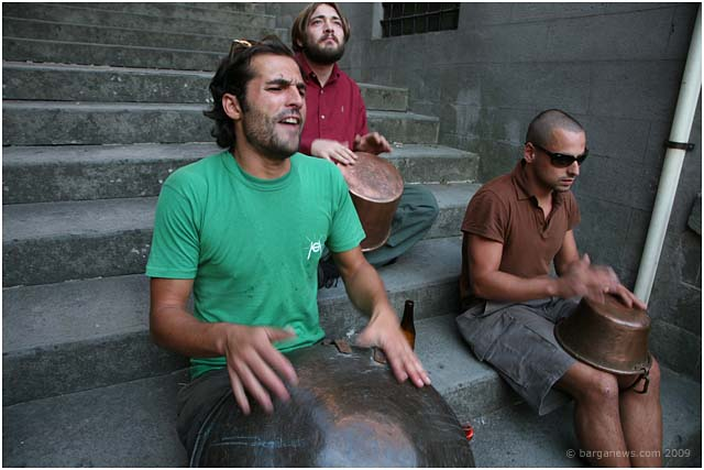 The Paioli Percussionists of Piazza Angelio barga 2009005